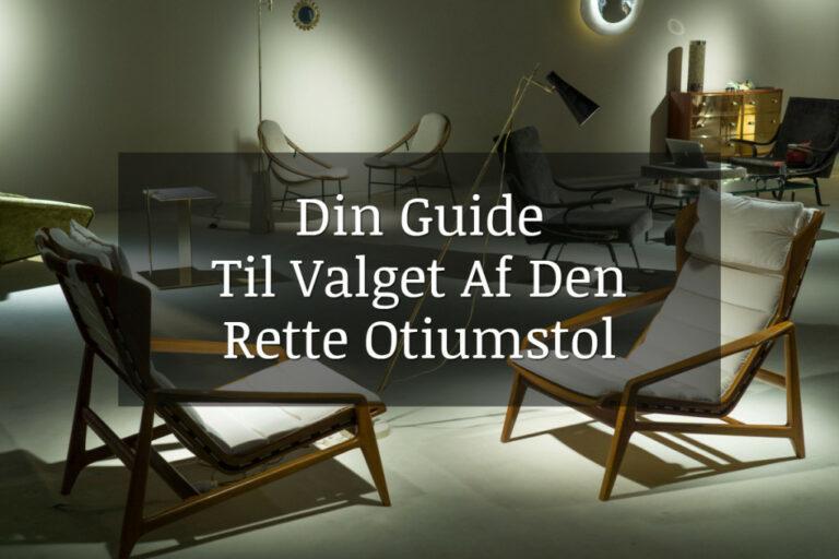 Otiumstol / Seniorstol