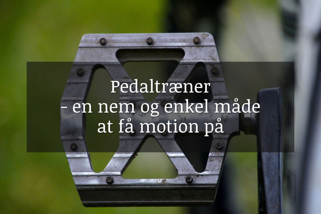 Pedaltræner
