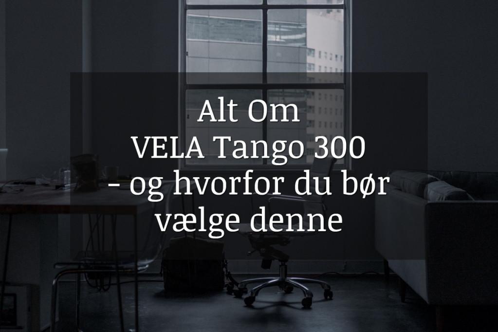 Alt om VELA Tango 300 stolen – og hvorfor du bør vælge denne
